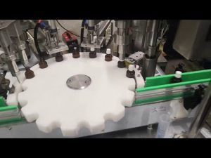 majhen stroj za polnjenje s tekočino