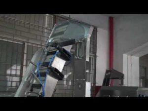 polni avtomatski servo-zavojni stroj za zapiranje steklenic za plastično vijačno zaporko