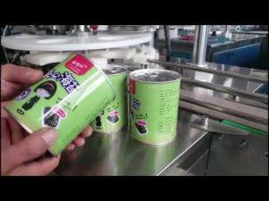 poln avtomatski kozmetični stroj za polnjenje tekočih steklenic s pokrovčkom