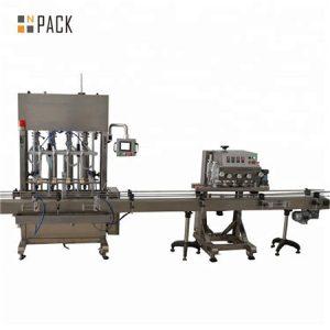 Razkužite stroj za polnjenje z geli