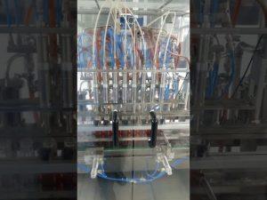 volumetrični stroj za polnjenje plastenk s tekočim jedilnim oljem