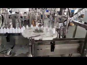 kozmetični medicinski stroj za polnjenje plastičnih steklenic