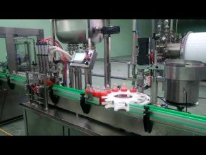 Avtomatski stroj za polnjenje in zapiranje 4 glave