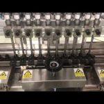 tekoči alkoholni krem linearni polnilni stroj, meden kozarec majhna polnilka oljnega olja