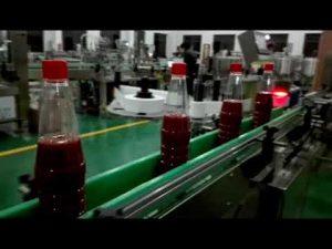 avtomatski polnilni stroj za hitro polnjenje steklenic za kečap, marmelado, omako