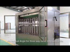 avtomatski bat za hišne stekleničke steklenico olje tekočino za polnjenje oznako stroji za označevanje
