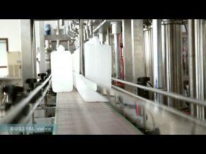 popolnoma avtomatski stroj za etiketiranje polnilnih olj za polnjenje maziv