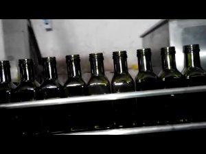 polno avtomatsko oljčno olje linearno 6 nastavkov za olje za steklenice olj