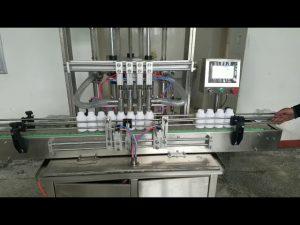 avtomatski viskozni stroj za polnjenje stekleničk za tekoče milo, losjon za telo, šampon