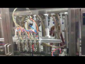 avtomatski stroj za polnjenje oljčnega steklenic