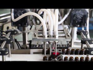 120ml pomivalni stroj za polnjenje in zapiranje oljčnega olja