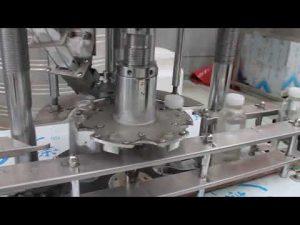 avtomatski stroj z enim samim glavo z vrtljivim pokrovom iz plastenke