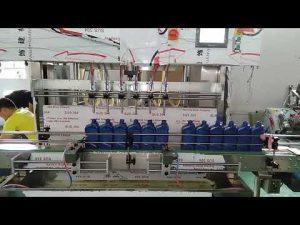 kitajski avtomatski stroj za polnjenje motornega olja 5000 ml lube za avtomobilsko industrijo