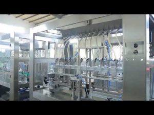 tovarniški avtomatski linearni viskozni tekoči jedilni olje iz posode za polnjenje kozarcev
